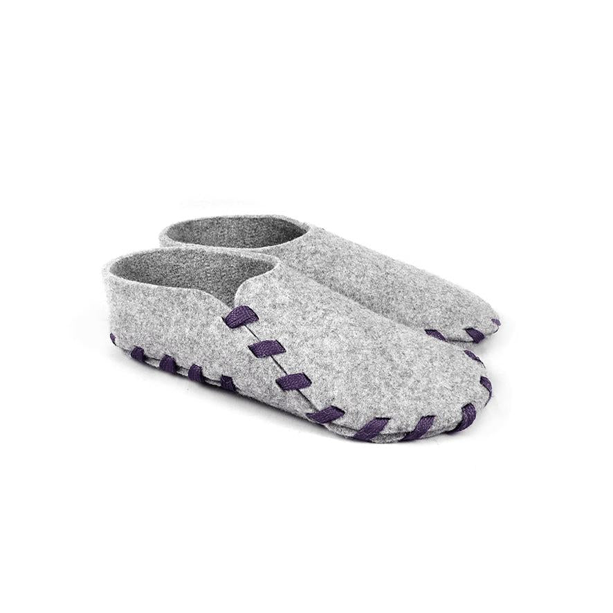 Lasso Classic Slippers Grey&Violet