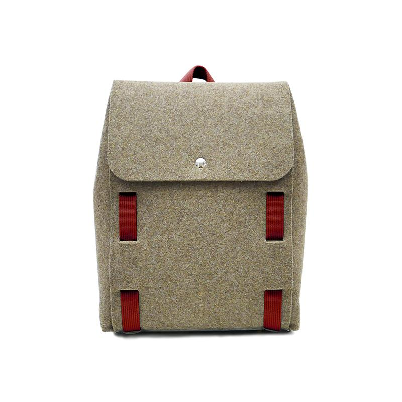 "Lasso 15"" Backpack Brown&Brick"