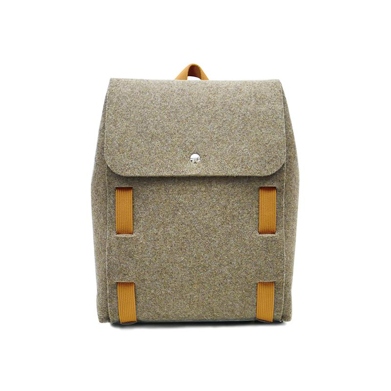 "Lasso 15"" Backpack Brown&Pumpkin"