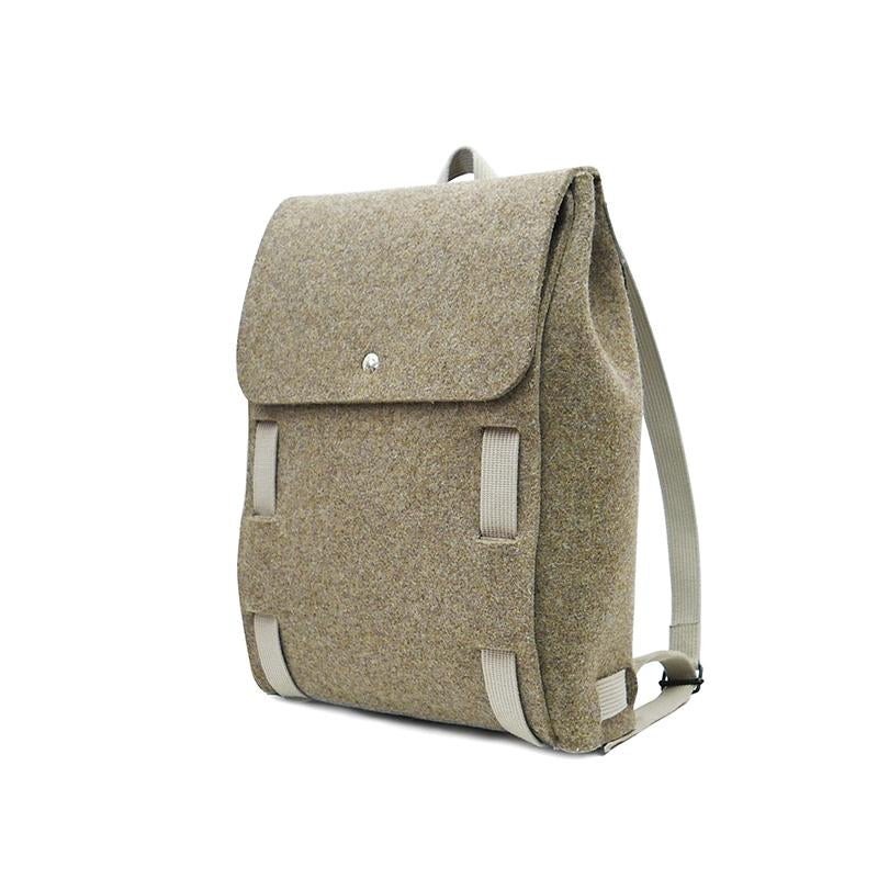 "Lasso 15"" Backpack Brown&Wool"