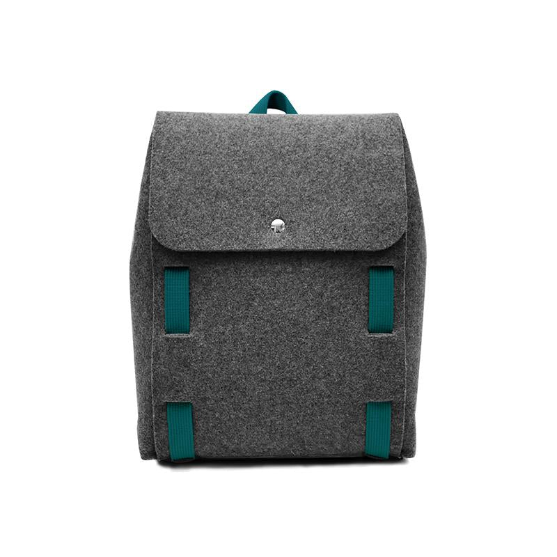 "Lasso 15"" Backpack Black&Peacock"