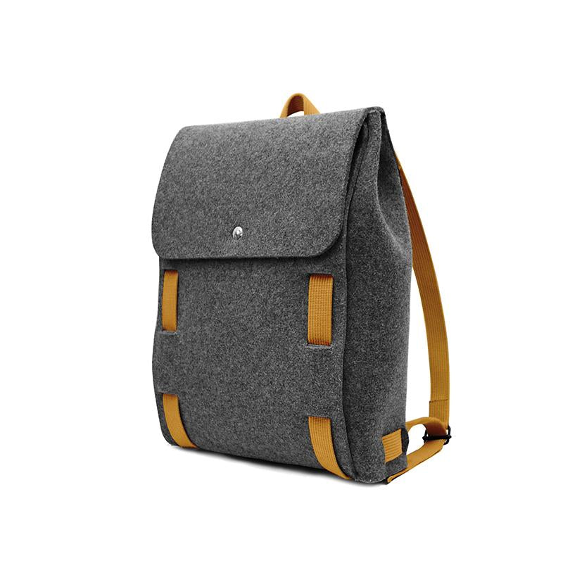 "Lasso 15"" Backpack Black&Pumpkin"