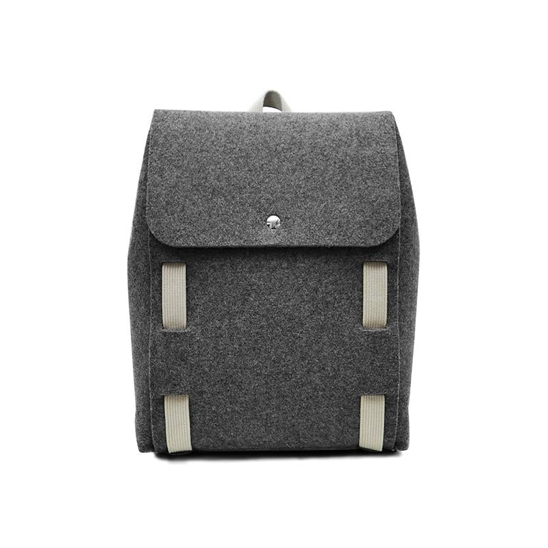 "Lasso 15"" Backpack Black&Wool"