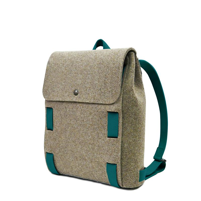 "Lasso 13"" Backpack Brown&Peacock"