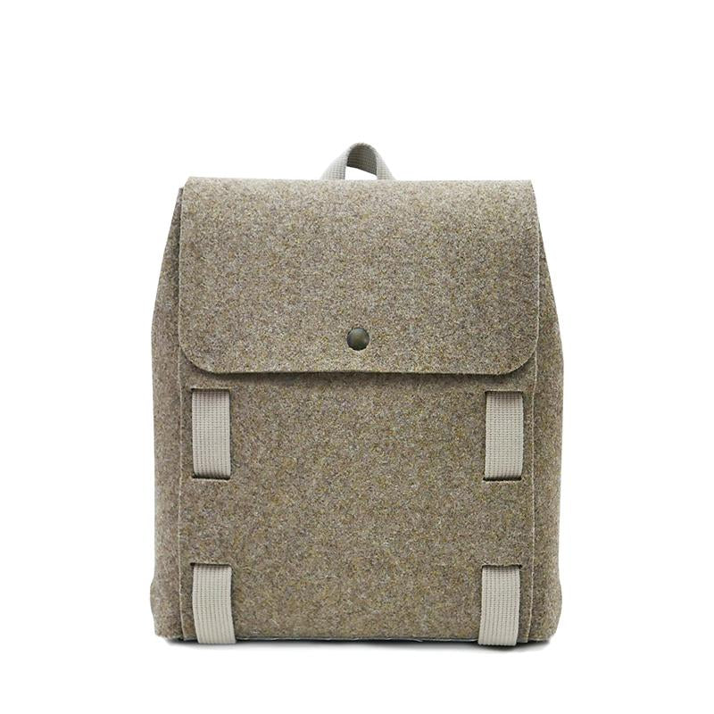 "Lasso 13"" Backpack Brown&Wool"