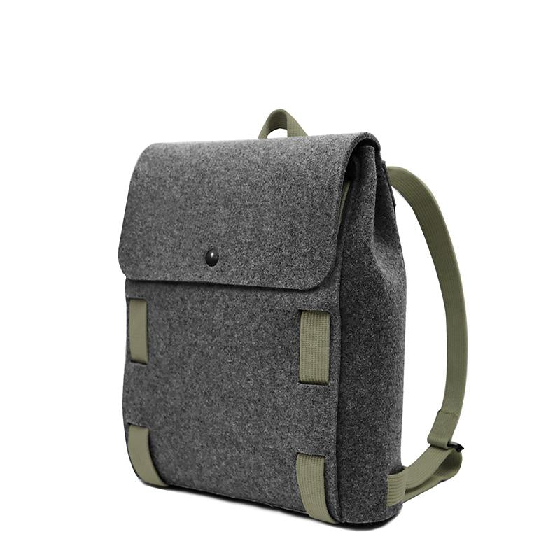 "Lasso 13"" Backpack Black&Kiwi"