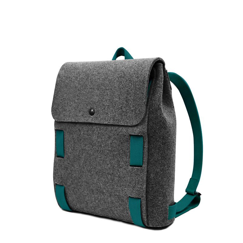 "Lasso 13"" Backpack Black&Peacock"