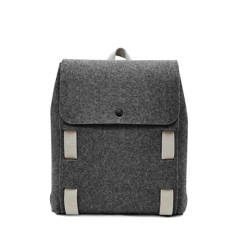"Lasso 13"" Backpack Black&Wool"