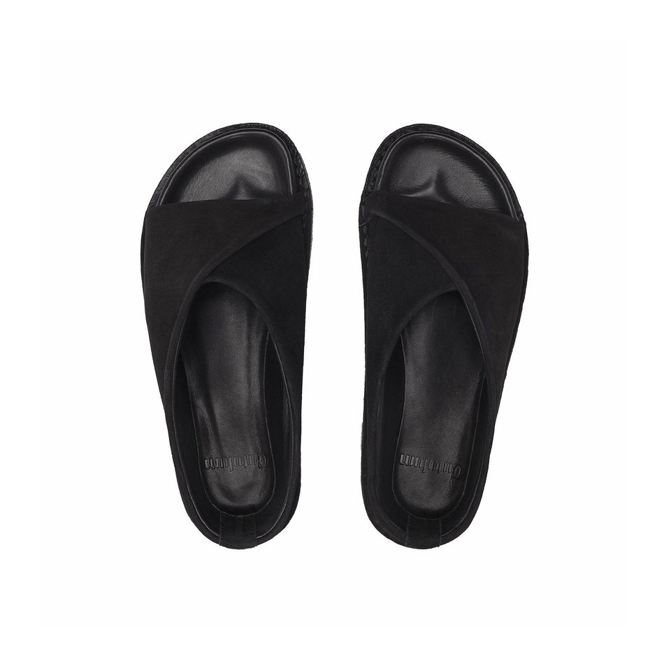 Cutulum Goofy Slippers Basic Black