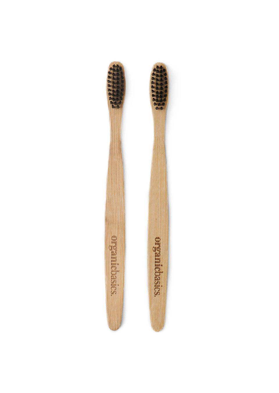 Organic Basics Recycled Bamboo Toothbrush 2-pack