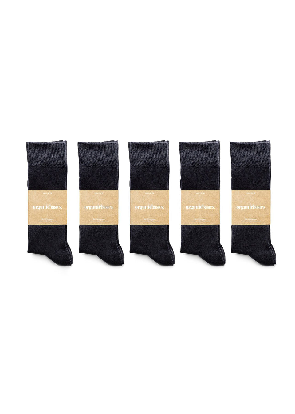 Organic Basics His Regular Socks 10-pack