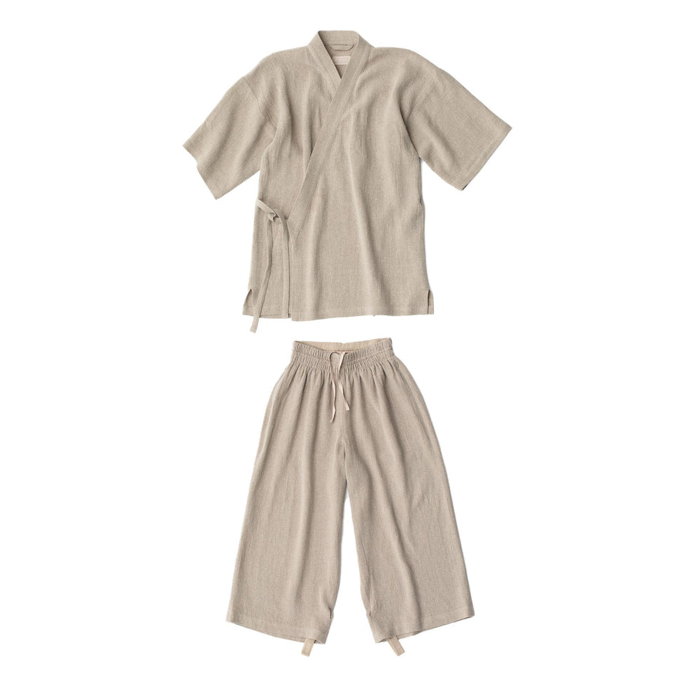 RAW Men Kimono Set Natural
