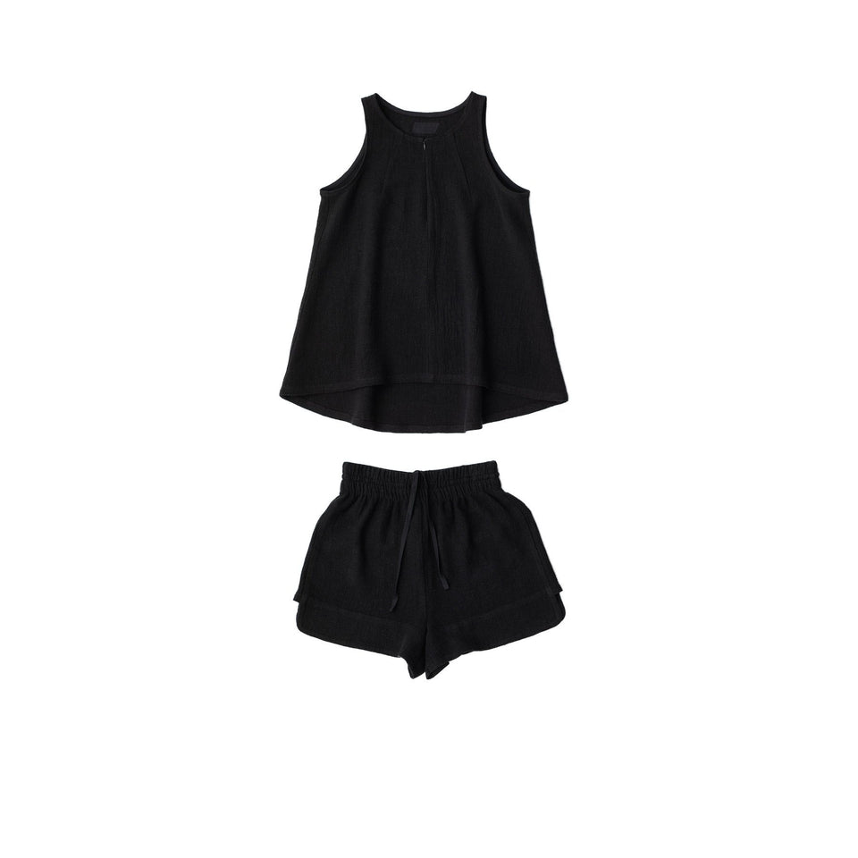 RAW Women Running Set Black