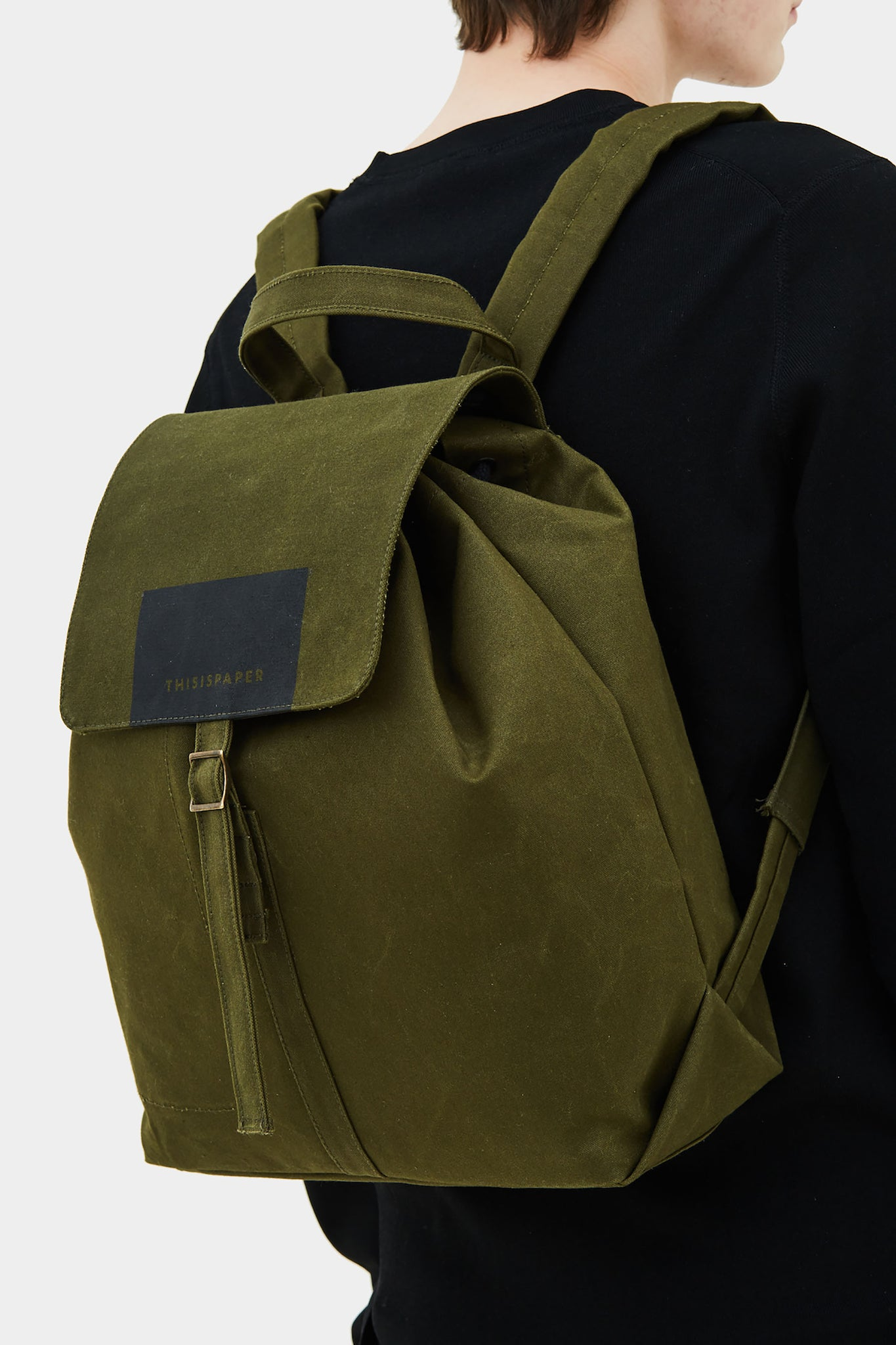 Bacpkack 01 Army Green