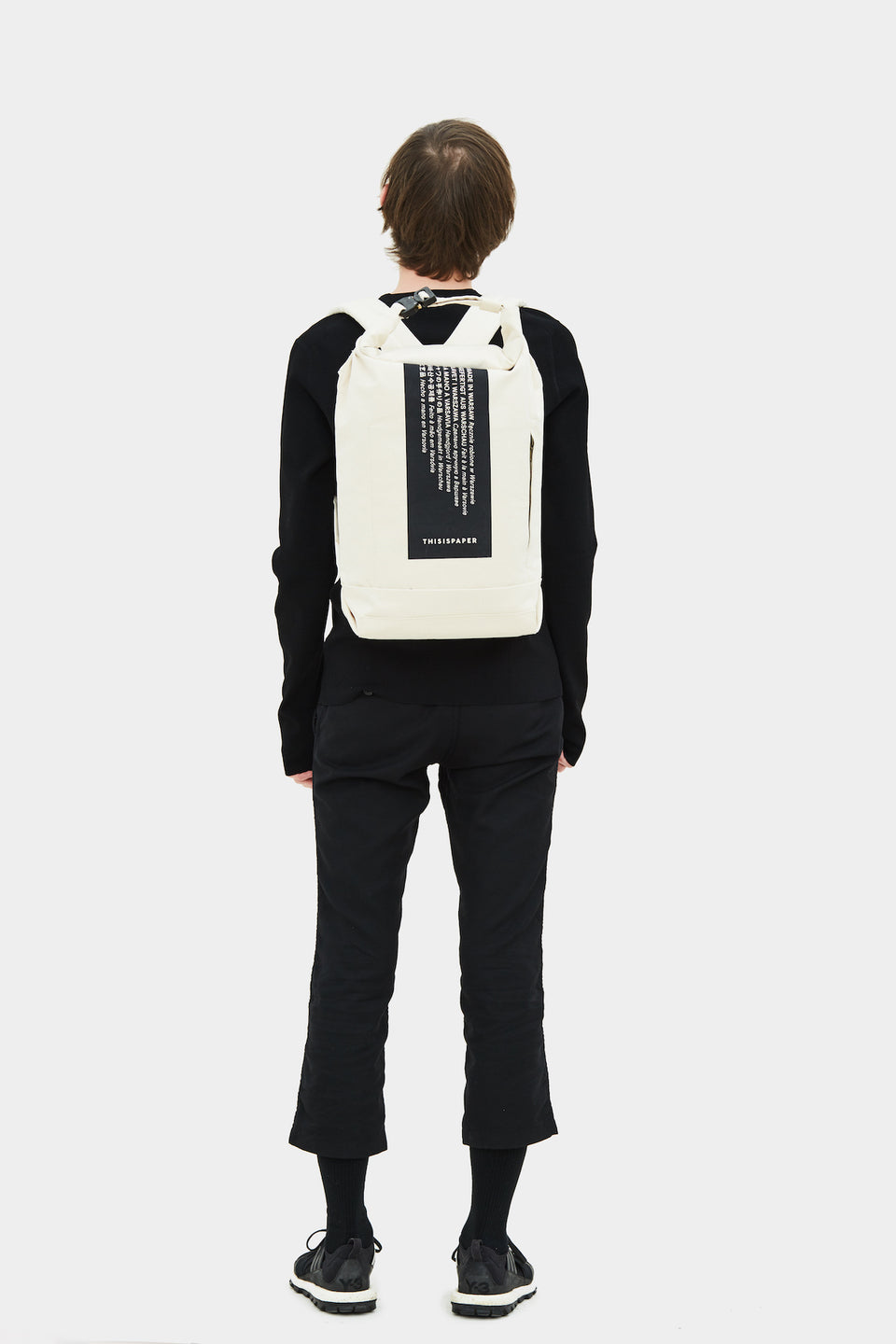U-tility Backpack 01 Medium Off White