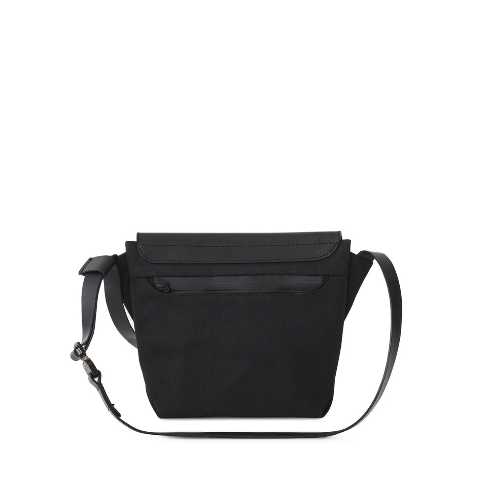 Thisispaper Tactical Bag Solid Black