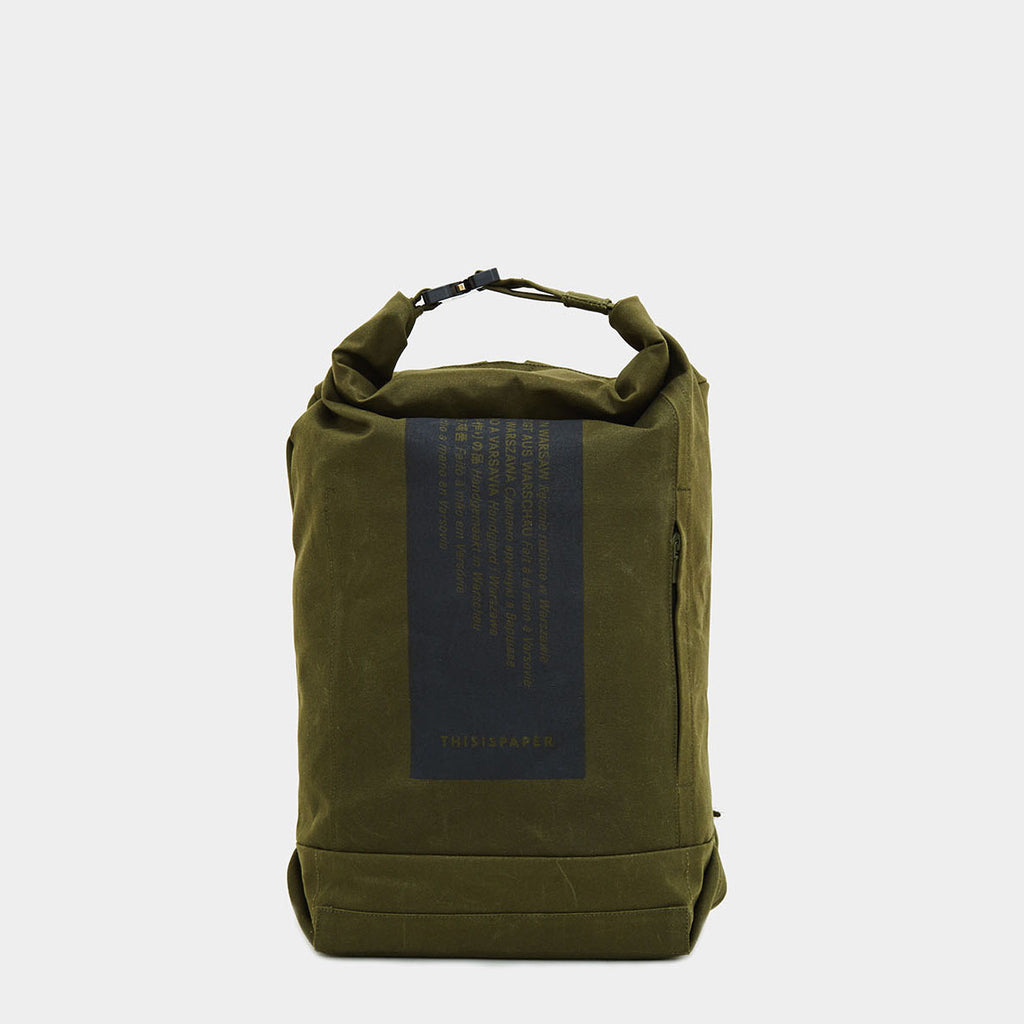 U-tility Backpack 01 Medium Army Green