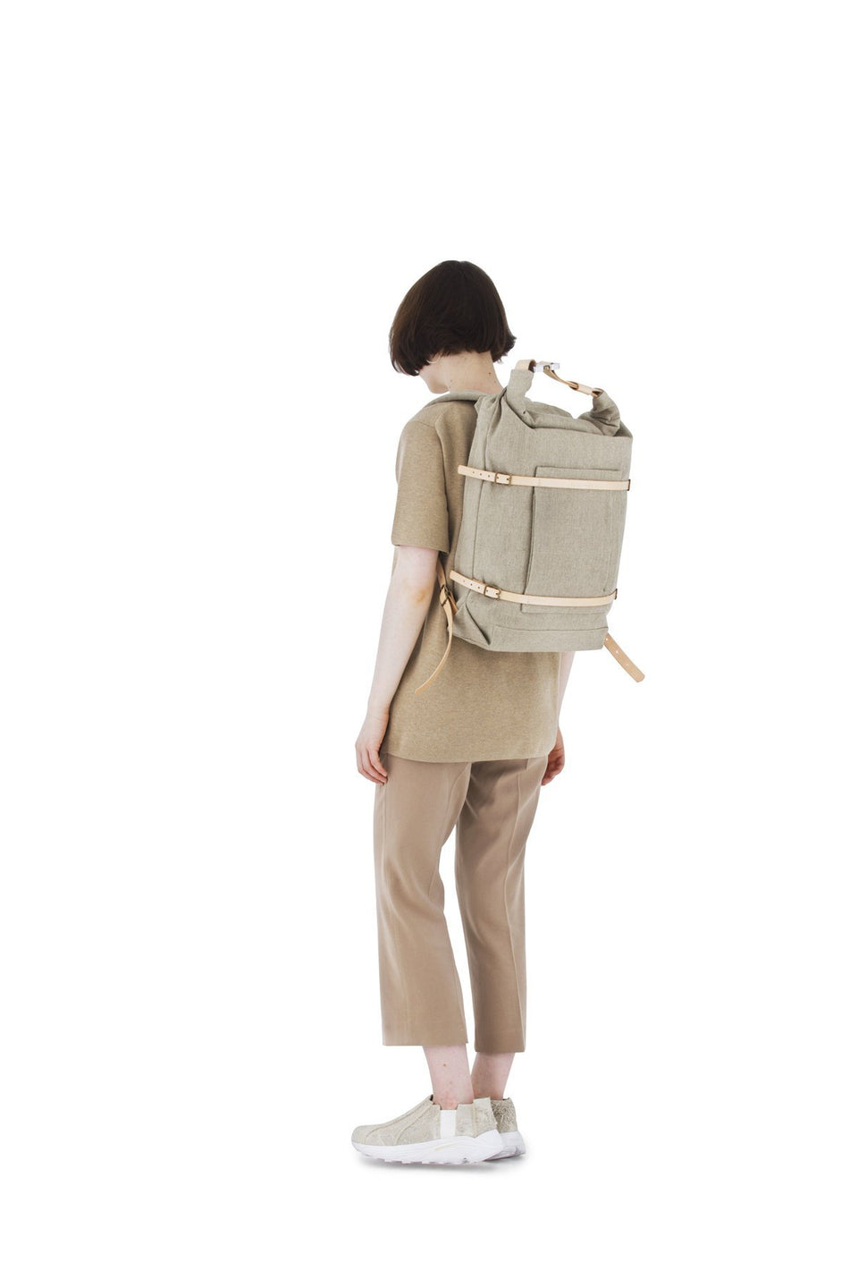 Thisispaper U-tility Backpack Raw Natural