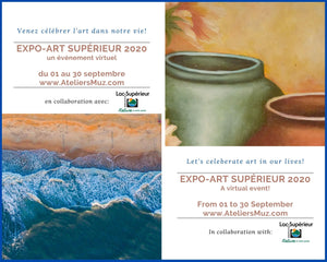 Lac Superiéur Virtual Community Art Show