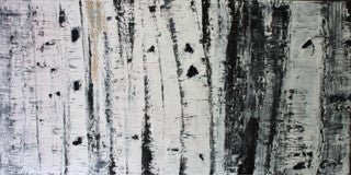 "Faded Birch, 30""Hx60""W"