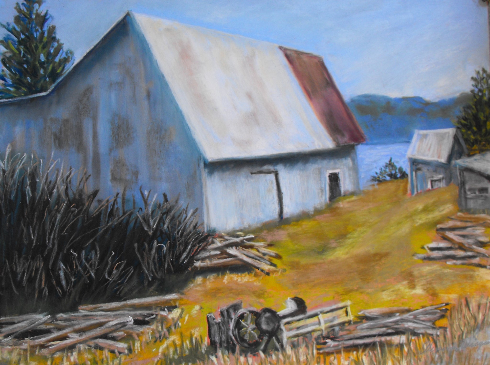 "Homestead Barn 12""Hx16""W"