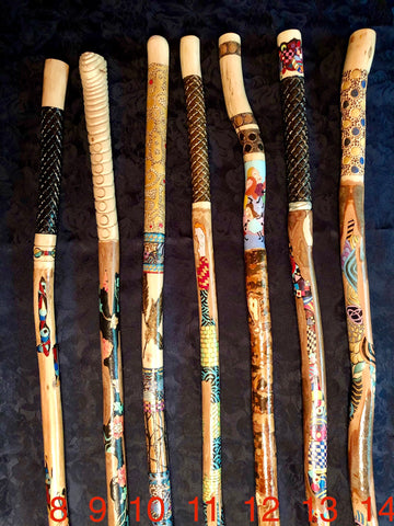 Bâtons de marche - 2e série / Walking Sticks - 2nd series