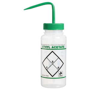 Wash Bottle, 16oz, Ethyl Acetate