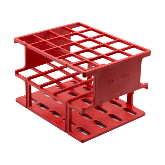 Red 20mm Test Tube Rack