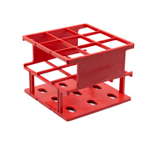 Red 30mm Test Tube Rack