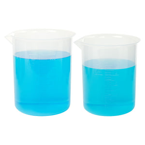 Graduated Polypropylene Beaker, 250mL