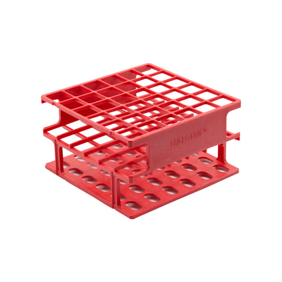 Red 16mm Test Tube Rack