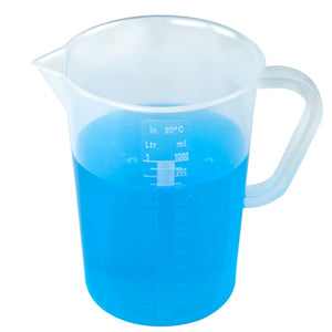Graduated Pitcher with Handle, 1000mL