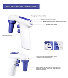 Electric Pipette Controller, 0.1-100mL Range, Rechargeable