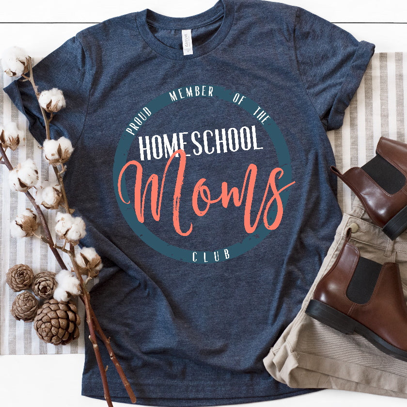 Homeschool Mom TShirt Homeschool Mom Shirt Homeschool Mom Shirt Homeschool Mom T Shirt