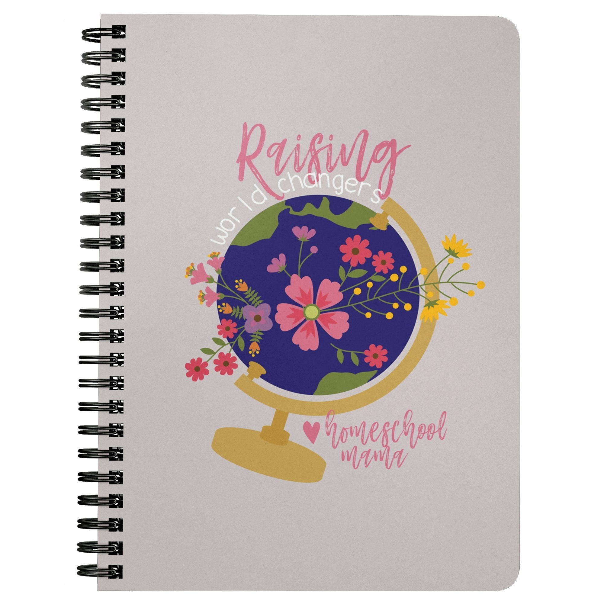 Homeschool Mama Spiralbound Notebook - Homeschool Style Co.