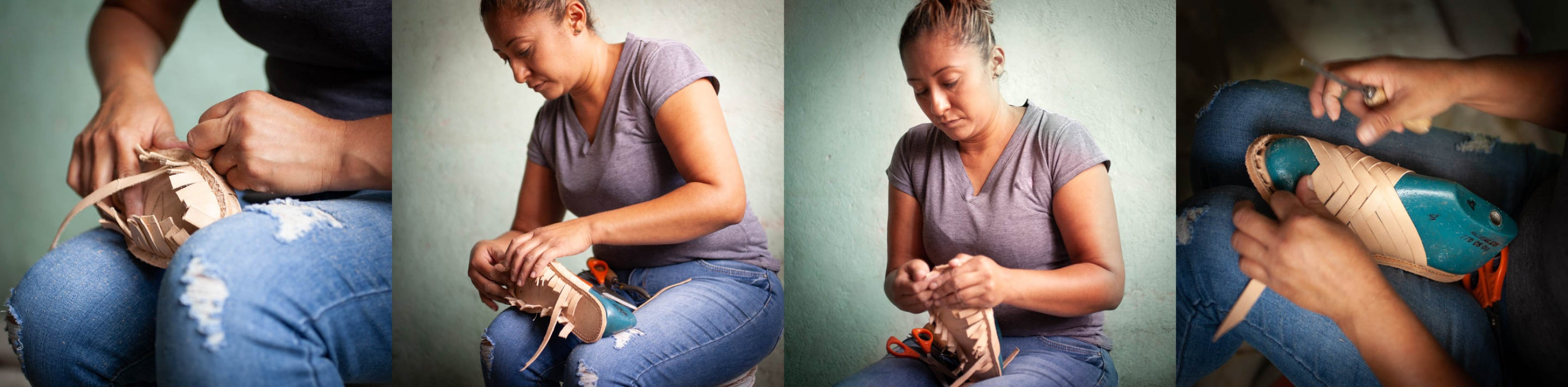 PALAPAS assembled by our  skilled team of female artisans from Michoacan, Mexico