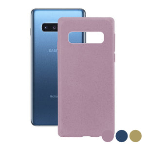 Custodia per Cellulare Samsung Galaxy S10+ KSIX Eco-Friendly - Amarello.it Acquisti Online con Consegne Gratuite