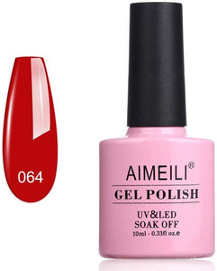 Smalto per unghie Gel Polish Aimeili Pillar Box Red 064 10 ml (Refurbished A+)