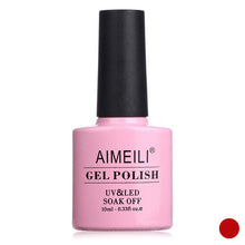 Carica l'immagine nel visualizzatore di Gallery, Smalto per unghie Gel Polish Aimeili Pillar Box Red 064 10 ml (Refurbished A+)