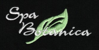 spa botanica embroidery example