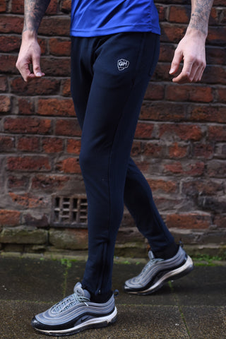 Tapered Jog Pants Navy