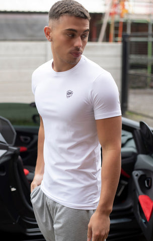 Stretch Fit T White