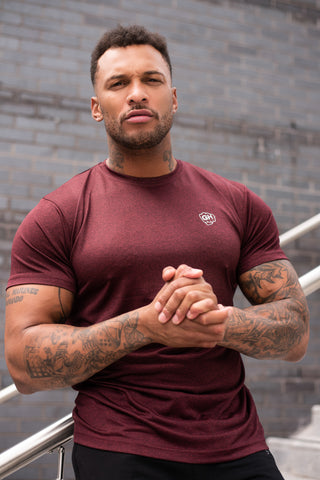 Active Dri-Fit T Burgundy
