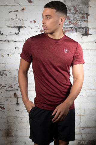 Active Dri-Fit T Red Marl