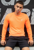 Long Sleeve T Bright Orange