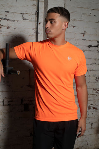 Active Dri-Fit T Bright Orange