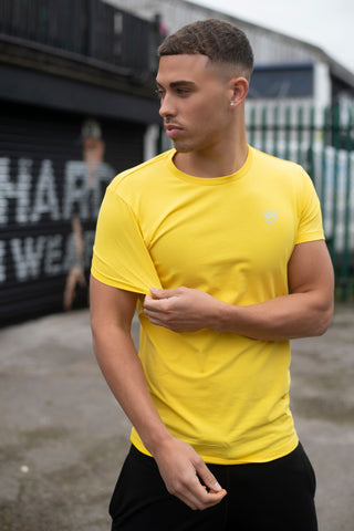 Stretch Fit T Yellow