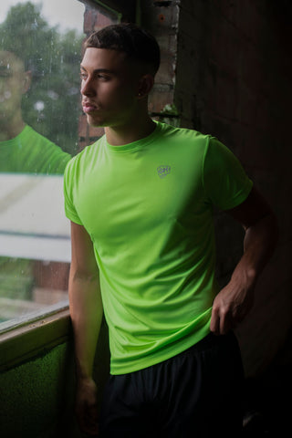 Active Dri-Fit T Bright Green