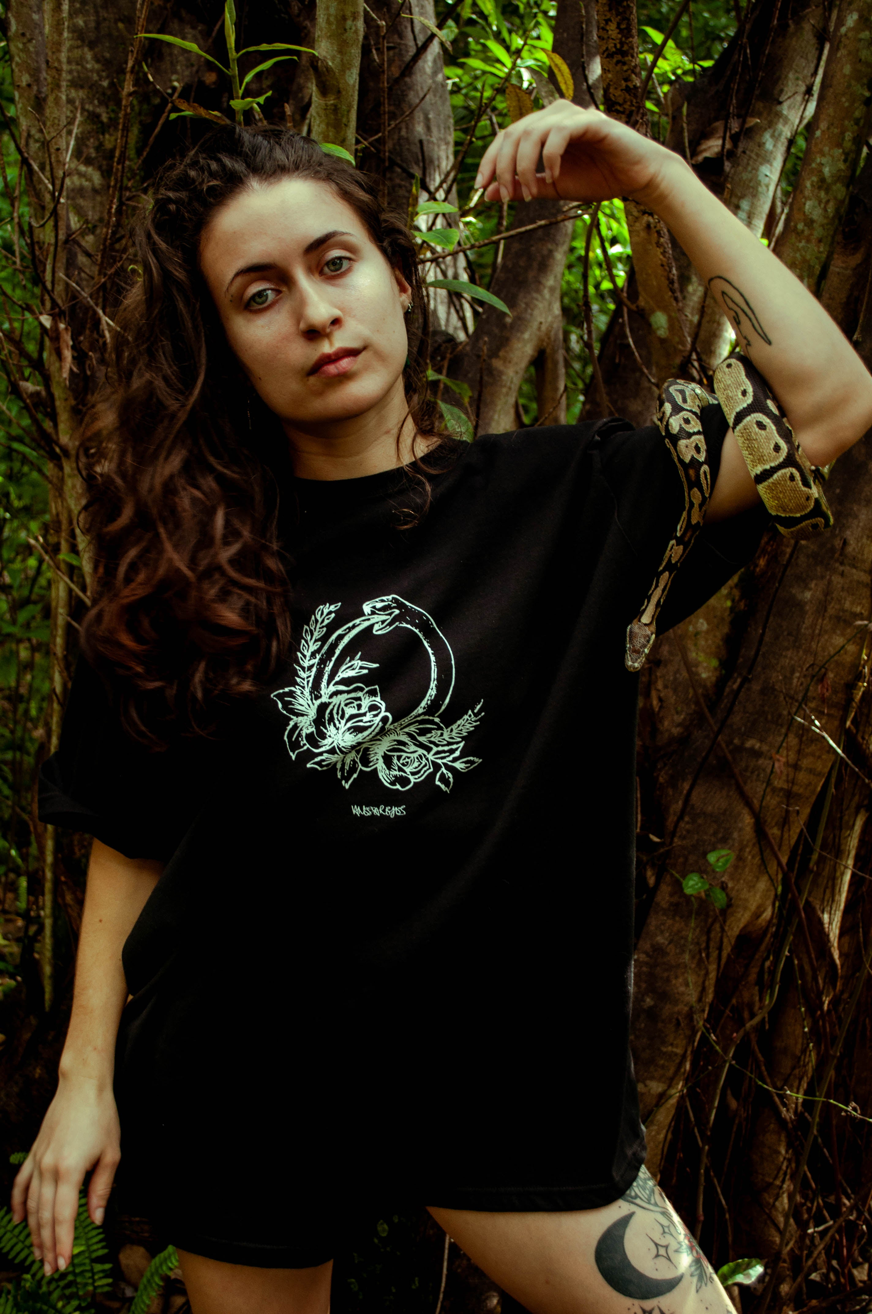 The Cyclic Serpent - Graphic T