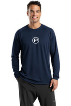 True Navy Dry Zone Long Sleeve Raglan T-Shirt